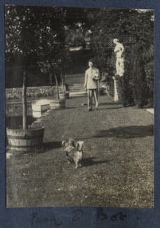 'Pung and Bob' (Bob Gathorne-Hardy), by Lady Ottoline Morrell - NPG Ax141553