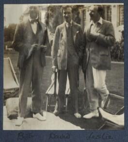 Bob Gathorne-Hardy; Lord David Cecil; L.P. Hartley, by Lady Ottoline Morrell - NPG Ax141554