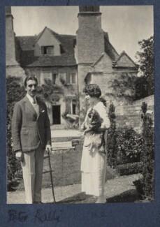 Peter Ralli; Julian Vinogradoff (née Morrell), by Lady Ottoline Morrell - NPG Ax141558