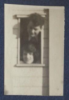 Bob Gathorne-Hardy; Julian Vinogradoff (née Morrell), by Lady Ottoline Morrell - NPG Ax141560a