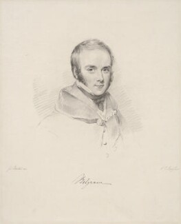 Richard Grosvenor, 2nd Marquess of Westminster, by Frederick Christian Lewis Sr, after  Joseph Slater - NPG D20615