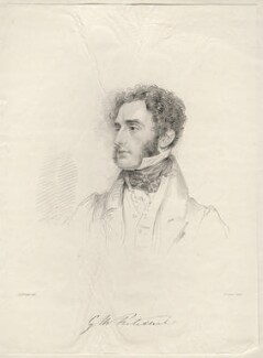 Hon. George Matthew Fortescue, by Frederick Christian Lewis Sr, after  Joseph Slater - NPG D20618