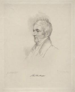 Samuel March Phillipps, by Frederick Christian Lewis Sr, after  Joseph Slater - NPG D20621