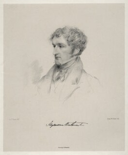 Seymour Thomas Bathurst, by Isaac Ware Slater, after  Joseph Slater - NPG D20622