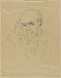 Sir George Scharf, by Sir George Scharf, (1872) - NPG  - © National Portrait Gallery, London