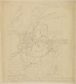 John Hervey, Baron Hervey of Ickworth, by Sir George Scharf, after  Jean Baptiste van Loo - NPG D20913