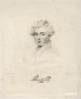 John Stuart-Wortley, 2nd Baron Wharncliffe, by Frederick Christian Lewis Sr, after  Joseph Slater - NPG D20624