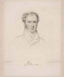(John) Evelyn Denison, 1st Viscount Ossington, by Frederick Christian Lewis Sr, after  Joseph Slater - NPG D20628