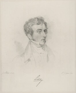 Anthony Ashley-Cooper, 7th Earl of Shaftesbury, by Frederick Christian Lewis Sr, after  Joseph Slater, 1826 or after - NPG D20629 - © National Portrait Gallery, London