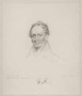 Thomas Spring Rice, 1st Baron Monteagle of Brandon, by Frederick Christian Lewis Sr, after  Joseph Slater - NPG D20630