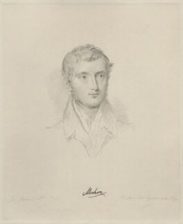 Philip Stanhope, 5th Earl Stanhope, by Frederick Christian Lewis Sr, after  Joseph Slater, 1833 or after - NPG D20634 - © National Portrait Gallery, London
