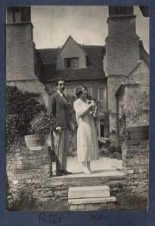 Peter Ralli; Julian Vinogradoff (née Morrell), by Lady Ottoline Morrell - NPG Ax141571