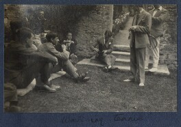 'Watching tennis', by Lady Ottoline Morrell - NPG Ax141573