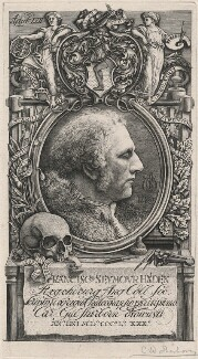 Sir Francis Seymour Haden, by Charles William Sherborn - NPG D21208