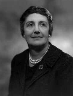 Dame Janet Maria Vaughan, by Bassano Ltd - NPG x171908