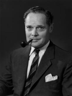 Sir Douglas Robert Stewart Bader, by Bassano Ltd - NPG x171927