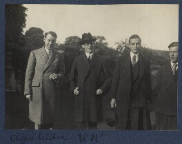 Clifford Henry Benn Kitchin; Richard Jennings; John Kenneth Ritchie, 3rd Baron Ritchie of Dundee; Philip Charles Thomson Ritchie, by Lady Ottoline Morrell - NPG Ax141600