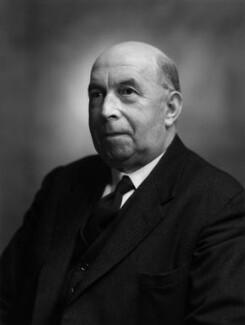 Sir (John) Goronwy Edwards, by Bassano Ltd - NPG x172059