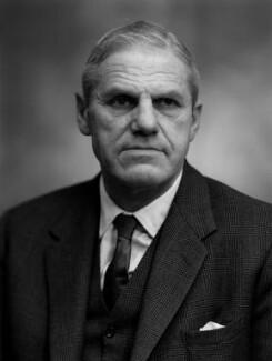 Sir Richard van der Riet Woolley, by Bassano Ltd - NPG x172083
