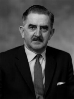 Herbert William ('Bert') Bowden, Baron Aylestone, by Bassano Ltd - NPG x172117