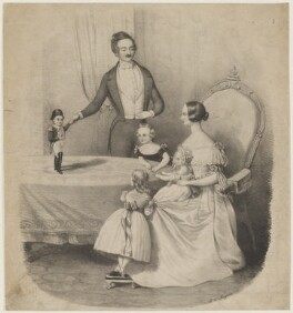 General Tom Thumb, by Henry Calton Maguire - NPG D20921