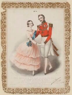 The Queen & Prince Albert's Polka (Queen Victoria; Prince Albert of Saxe-Coburg-Gotha), by John Brandard - NPG D20927