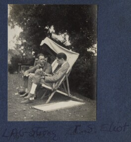 Leonard Alfred George Strong; T.S. Eliot, by Lady Ottoline Morrell - NPG Ax141642