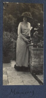 Lady Ottoline Morrell, possibly by Philip Edward Morrell - NPG Ax141645