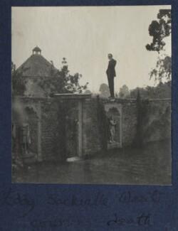 Edward ('Eddy') Sackville-West ('Coursing death'), by Lady Ottoline Morrell - NPG Ax141651