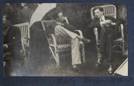 Charles Percy Sanger; Edward Sackville-West, 5th Baron Sackville; Raymond Mortimer, by Lady Ottoline Morrell - NPG Ax141654