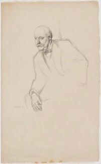 Sir (Charles) Hubert Hastings Parry, 1st Bt, by William Rothenstein - NPG D20930
