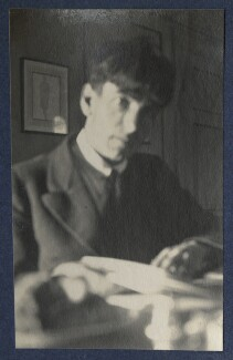 Sir Stanley Spencer, by Lady Ottoline Morrell - NPG Ax141671