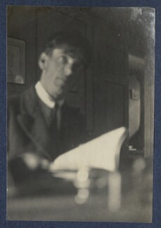 Sir Stanley Spencer, by Lady Ottoline Morrell - NPG Ax141673