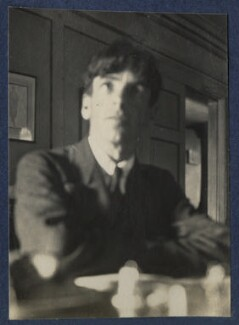 Sir Stanley Spencer, by Lady Ottoline Morrell - NPG Ax141675