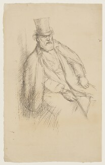 Alphonse Legros, by William Rothenstein - NPG D20931