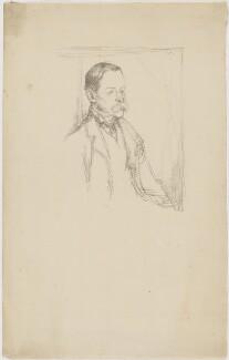 Sir Frederick Pollock, 3rd Bt, by William Rothenstein - NPG D20934