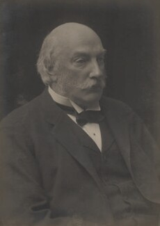 John William Strutt, 3rd Baron Rayleigh, by Walter Stoneman - NPG x165776