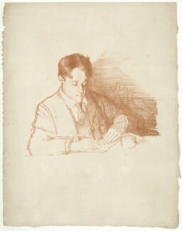 Laurence Binyon, by William Rothenstein - NPG D20933