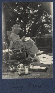 Frances Jane Horner (née Graham), Lady Horner, by Lady Ottoline Morrell - NPG Ax141636a
