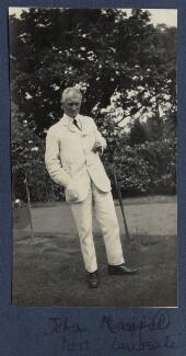 John Masefield, by Lady Ottoline Morrell - NPG Ax141686