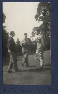 Walter James Redfern Turner; Gilbert Spencer; Hon. Robert Gathorne-Hardy, by Lady Ottoline Morrell - NPG Ax141701