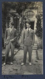 Kyrle Leng; Bob Gathorne-Hardy, by Lady Ottoline Morrell - NPG Ax141702