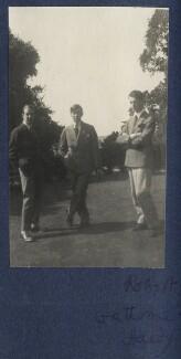 Walter James Redfern Turner; Gilbert Spencer; Bob Gathorne-Hardy, by Lady Ottoline Morrell - NPG Ax141703