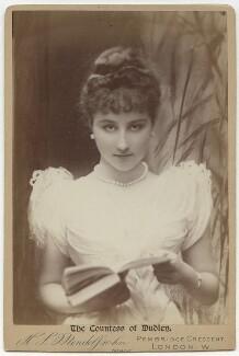 Rachel (née Gurney), Countess of Dudley, by Hayman Seleg Mendelssohn - NPG x87005