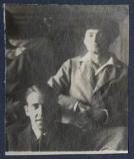 Walter James Redfern Turner; Mark Gertler, by Lady Ottoline Morrell - NPG Ax141709