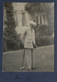 Walter Taylor, by Lady Ottoline Morrell - NPG Ax141711