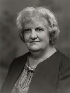 Dame Frances Amelia Yates, by Bassano Ltd - NPG x172358