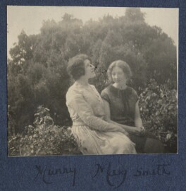 Lady Ottoline Morrell; Mary Smith, possibly by Philip Edward Morrell - NPG Ax141747