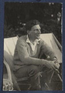 Siegfried Loraine Sassoon, by Hon. Robert Gathorne-Hardy - NPG Ax141758