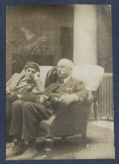 Mark Gertler; Walter Taylor, by Lady Ottoline Morrell - NPG Ax141786